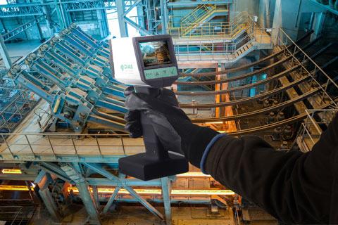 德国DIAS便携式红外测温仪DSR80NV的应用